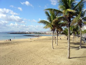 Playa del Reducto in Arrecife