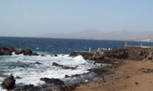 Playa Pila de la Barrilla in Tías, Lanzarote